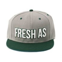 GREY FRESH AS FUCK SNAPBACK