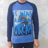 NOTORIOUS DREAM ON RAGLAN BLUE