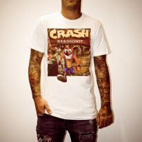 CRASH BANDICOOT WHITE TEE