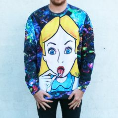 FULL PRINT ALICE LSD JUMPER