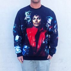 FULL PRINT THRILLER MJ CREW