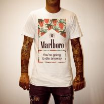 GONNA DIE WHITE TEE