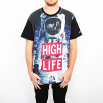 FULL PRINT HIGH LIFE TEE