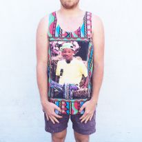 FULL PRINT PRINCE OF BEL AIR SINGLET
