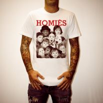 LITTLE HOMIES WHITE TEE
