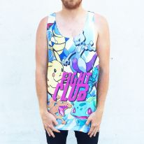 FULL PRINT FIGHT CLUB SINGLET