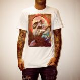 BIGGIE MURAL WHITE TEE