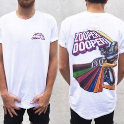 ZOOPER DOOPER FRONT AND BACK TEE