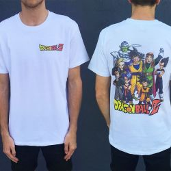 Z FIGHTERS FRONT AND BACK TEE